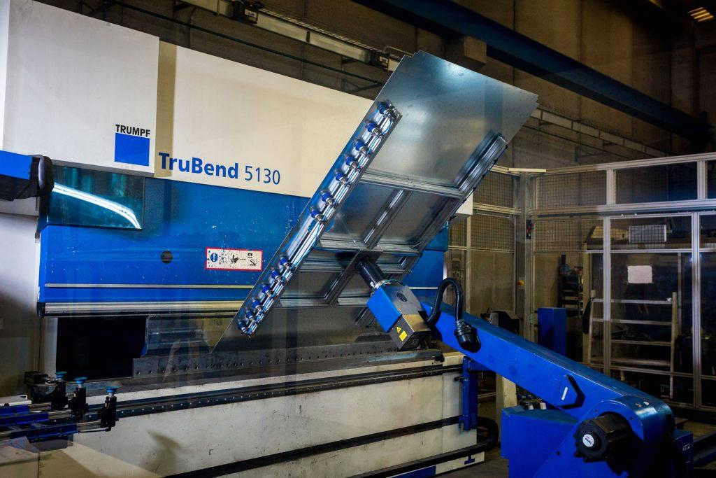 CNC and Robotic folding